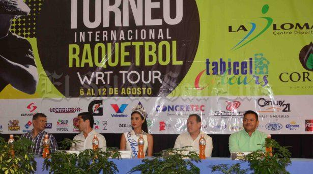 Arranca el XVI Torneo Internacional de Raquetbol WRT Tour en La Loma