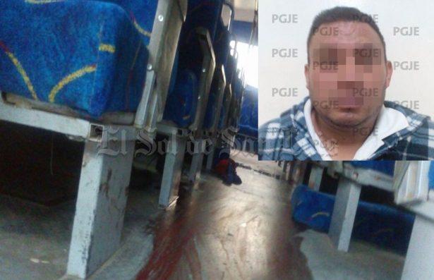 Hay otra victima de sujeto que atacó a mujer en un camión de personal