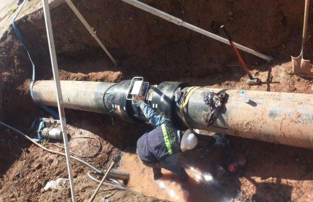 Fuga en El Realito deja sin  agua otra vez a la Capital
