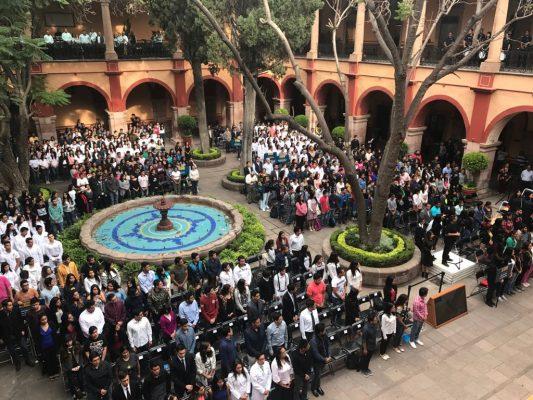 UASLP realiza ceremonia de bienvenida al ciclo escolar 2017-2018