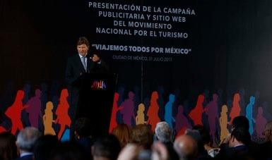 "Arrancó la campaña publicitaria ""Viajemos todos por México"""