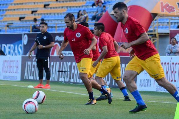 Futbolistas del Atlético de San Luis sintieron el temblor