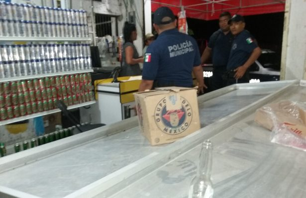 Sólo 6 clausuras a establecimientos; reporta departamento de inspección de alcoholes