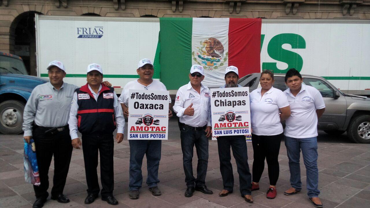 Reciben víveres para apoyar a las personas afectadas por el sismo de Oaxaca