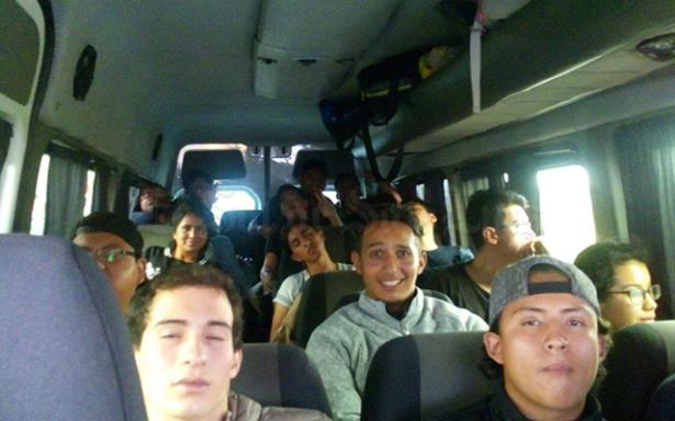 Alumnos de la UASLP viajan para apoyar a los afectados por el sismo