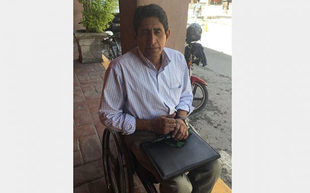 Denigrante la invasión de áreas para personas con discapacidad
