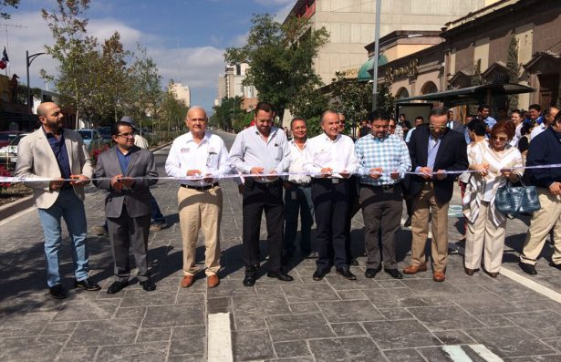 Inauguran primer tramo de la rehabilitación en Carranza