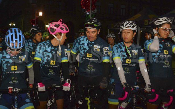 """Participa Raúl Alcalá en la """"Ruta San Luis de Ciclismo 2017"""""""