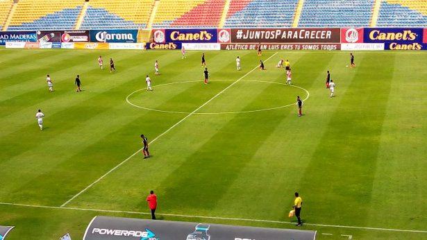 Atlético de San Luis derrota 4-0 a Necaxa sub 20