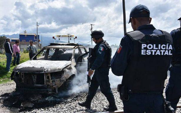Balacera por asalto a tren deja dos policías heridos, en Huamantla