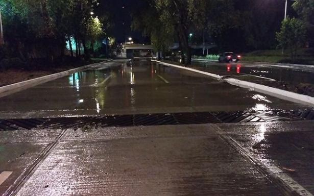 En dos horas se drenaron las inundaciones en el Río Santiago