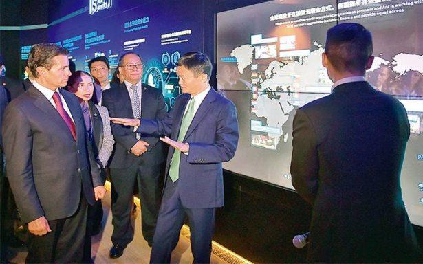 El empresario chino Jack Ma, apuesta por México
