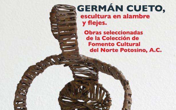 Expondrán en La Paz Escultura en alambre y flejes de Germán Cueto