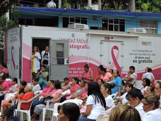 Unidad Móvil de Mastografía estará en el Hospital Civil de Tamazunchale