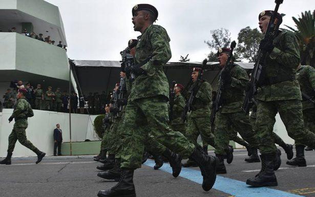 Se alistan Fuerzas Armadas para desfile del 16 de Septiembre