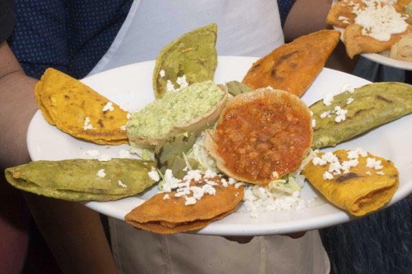 Gastronomia potosina enchiladas