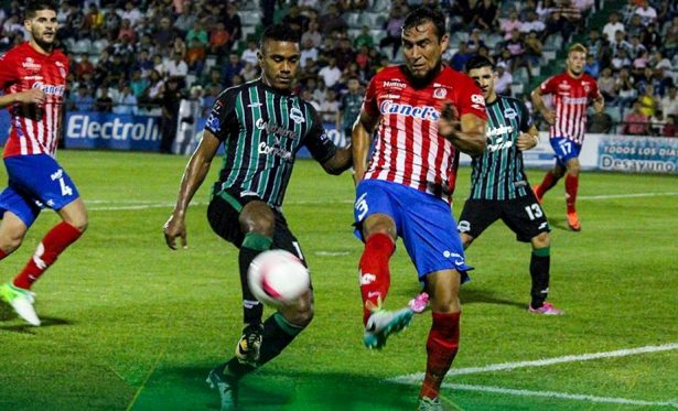 Atlético de San Luis iguala a 0-0 con Cafetaleros