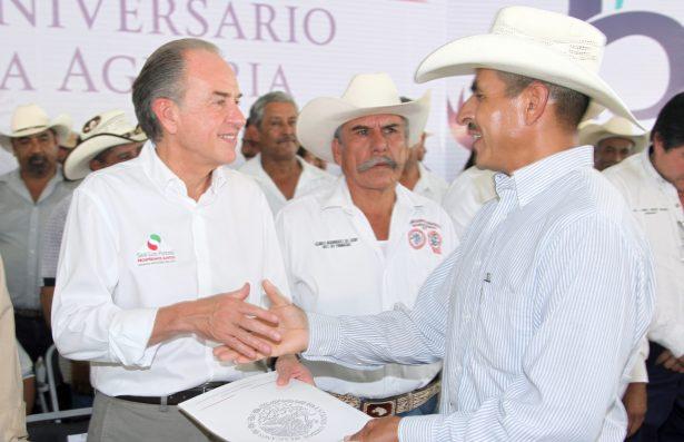 Los campesinos de SLP no están solos: Gobernador