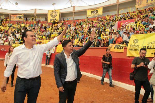 Por el Gallardismo, el PRD es la primera fuerza política de SLP: Juan Zepeda