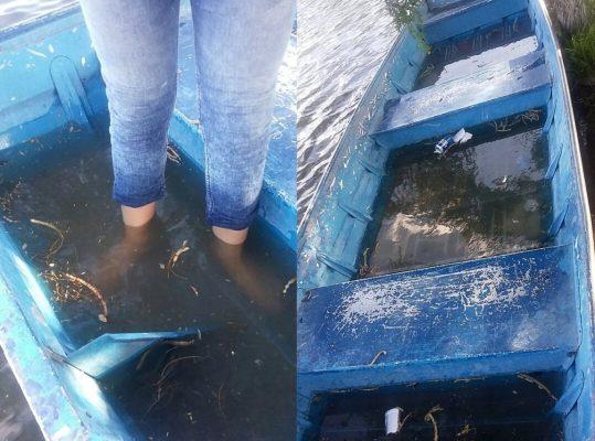 Deterioro de lanchas representa un riesgo para visitantes al parque del Cerrito Blanco