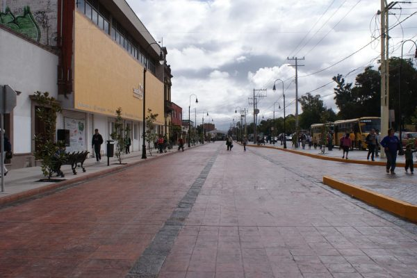 Será peatonal la calle Manuel José Othón