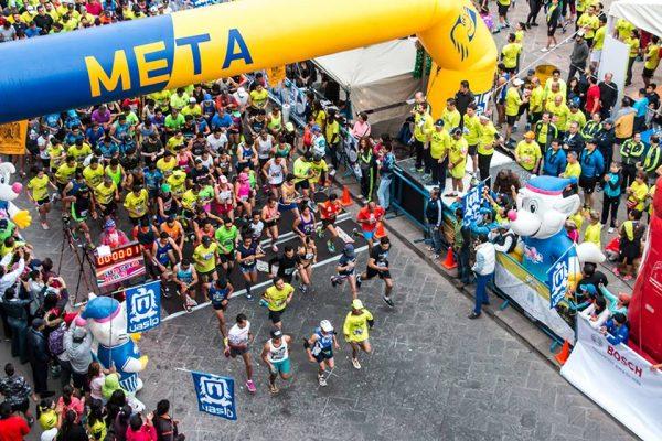 4 mil atletas en el Medio Maratón de la UASLP