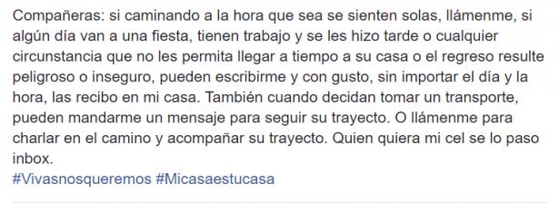 Mensaje Arely Torres Miranda
