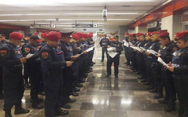 Con tríptico buscan frenar suicidio en Metro