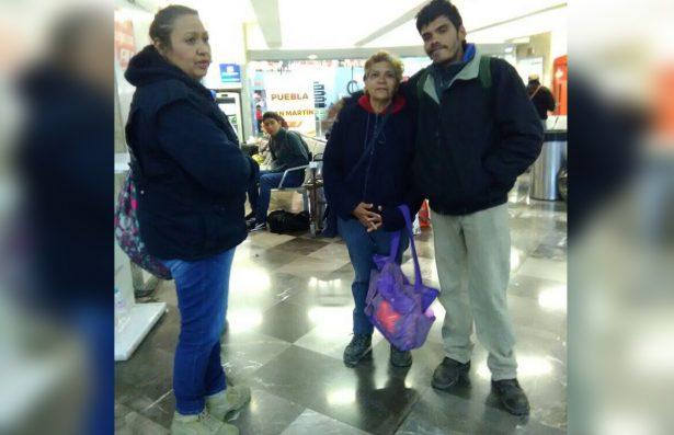 Final feliz tuvo Miguel Ángel, se reunió con su mamá