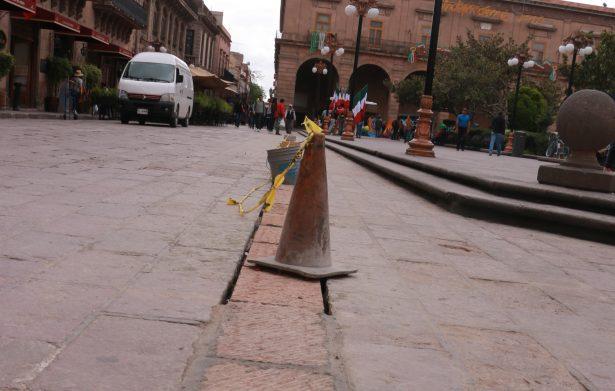 Falta coordinación entre autoridades para evitar daños al Centro Histórico