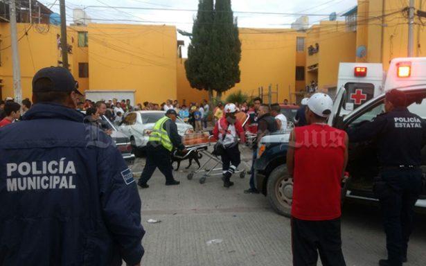 Un joven resulta lesionado por desconocidos en la col. Pavón
