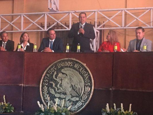Alcalde Pedro Alberto Tovar García presentó su Segundo Informe de Gobierno.