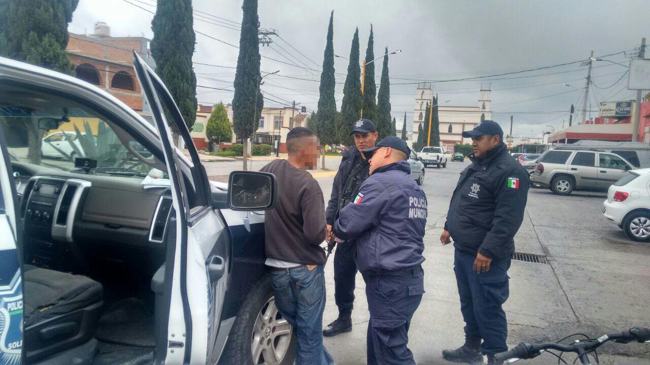 Policia de soledad operativo detenido