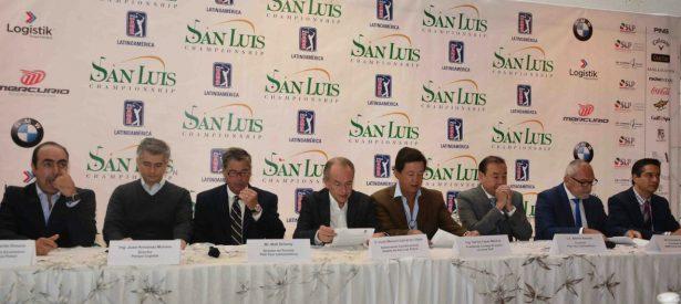 Presentan San Luís Championship Latinoamerica