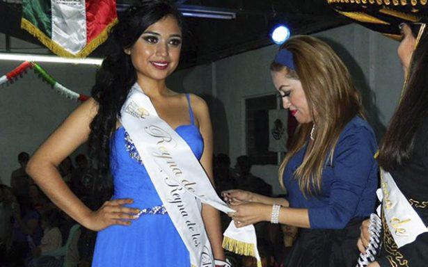 Fátima González, reina de Fiestas Patrias, de Bocas