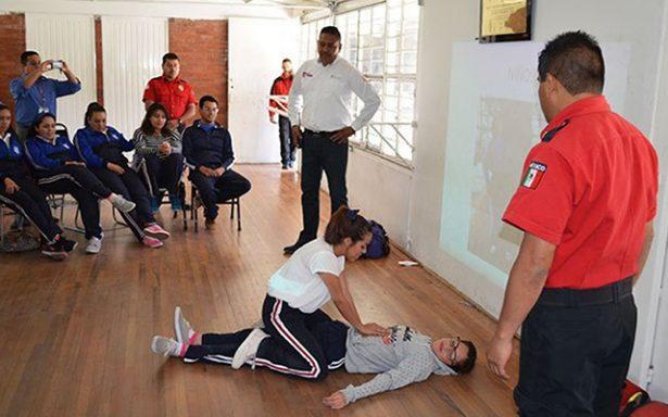 Recomienda Protección Civil que las familias se capacitan en cursos de primeros auxilios