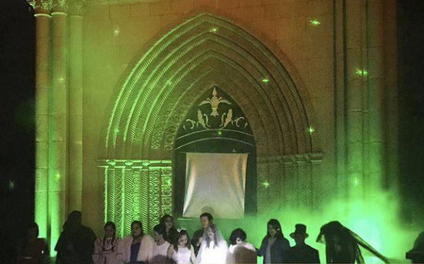 """Más de 200 asistentes al recorrido """"Noche de Leyendas"""" en El Saucito"""
