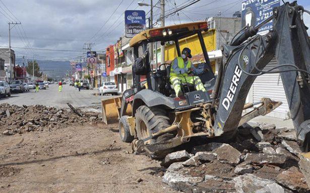 Rehabilitarán transitada calle 71 de Prados de San Vicente