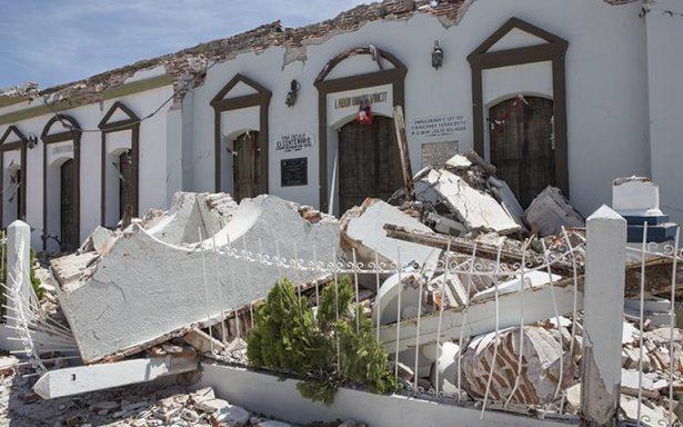 Sismo deja daños en 4 mil 500 Pymes en Oaxaca y Chiapas