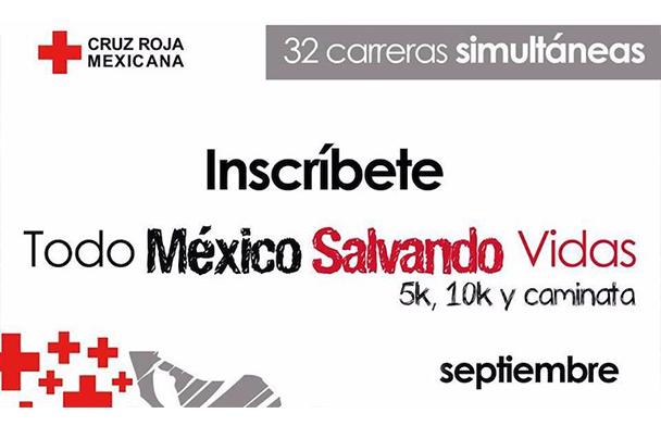 Carrera atlética en todo México