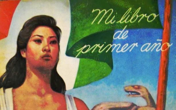 Victoria Dorenlas, imagen de la Madre Patria en los libros de Texto Gratuito