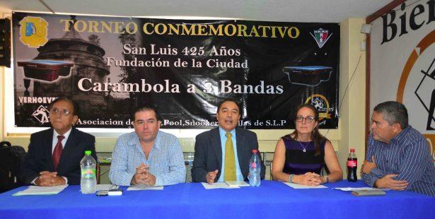 Presentan torneo internacional de Carambola 3 Bandas