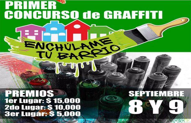 Inpojuve e Inpode invitan a 1er concurso de graffiti