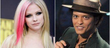 Avril Lavigne y Bruno Mars, las celebridades más peligrosas en internet