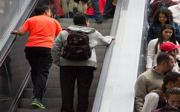 Metro tomará medidas para evitar accidentes en las escaleras