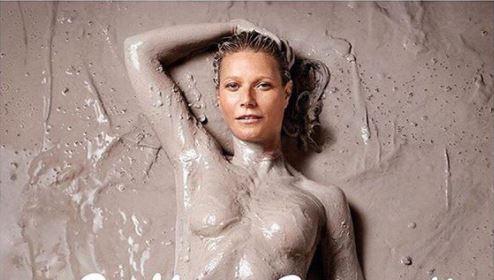 Gwyneth Paltrow saca su lado sexy al mostrarse semidesnuda