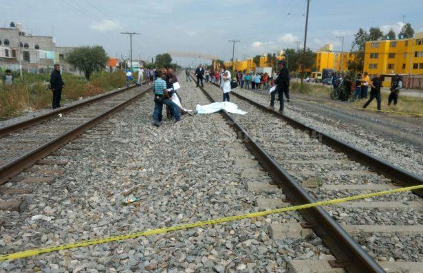 Muere hombre partido a la mitad por el tren