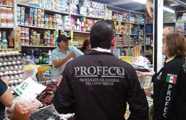 Profeco vigila comercios ante posible aumento de precios en alimentos