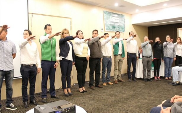 Partido Verde realiza asamblea sin contratiempos; ratifica a Manuel Barrera