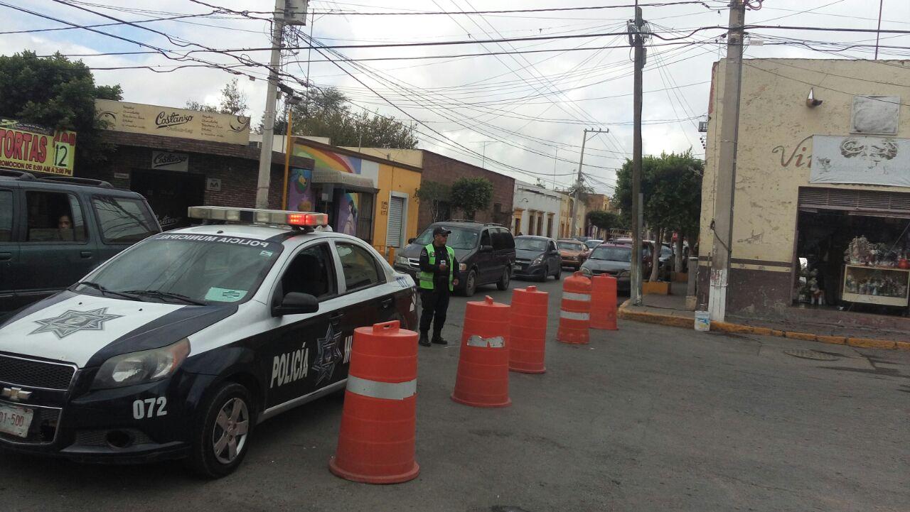 policia municipal cierre de vial operativo seguridad soledad